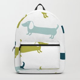 Lovely dachshunds in great colors Backpack