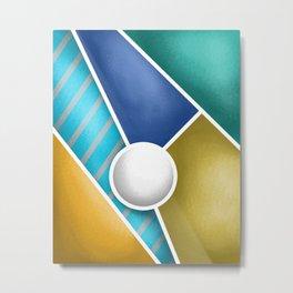 Abstract 1 Metal Print