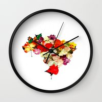 brasil Wall Clocks featuring brasil by EDSON RAMOS