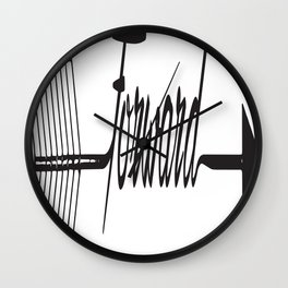 Forward Thinking Wall Clock