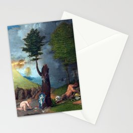 Lorenzo Lotto Allegory of Virtue and Vice Stationery Cards