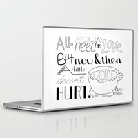 chocolate Laptop & iPad Skins featuring Chocolate by Kate D