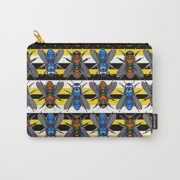 Bee Stripes Carry-All Pouch