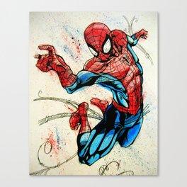 Web-Slinger Spider-Man Canvas Print