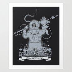 Ghost Of Nemo Art Print