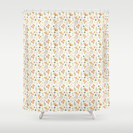 Foxy Fun Shower Curtain