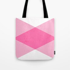 the pink triangles Tote Bag