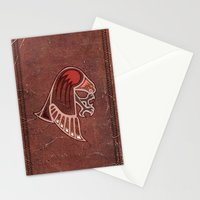 Aboriginal Hawk Attack Stationery Cards