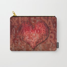 LOVE - Sex and Drugs and Rock 'n' Roll Carry-All Pouch