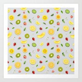 Mixed Fruit 7 Art Print