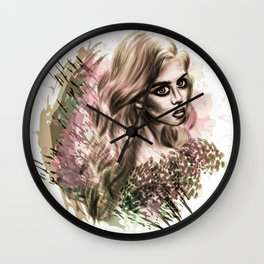 Disappearance Wall Clock