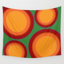 Sunspots in my eyes - Green Wall Tapestry