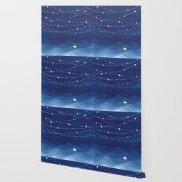 Garland of Stars IV, night sky Wallpaper