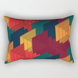 3D X 0.1 Rectangular Pillow