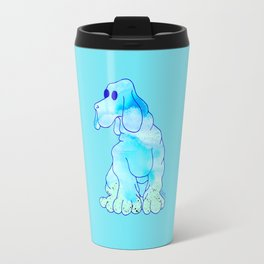Blue Bloodhound Travel Mug