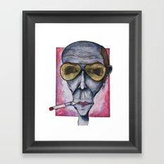 Gonzo Hunter Framed Art Print
