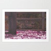 Nature's Invitation Art Print