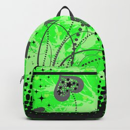 Abstract ornament with hearts Backpack