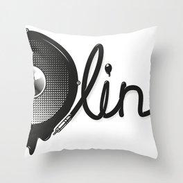 Bassline Throw Pillow