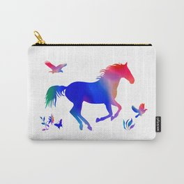 A horses freedom Carry-All Pouch