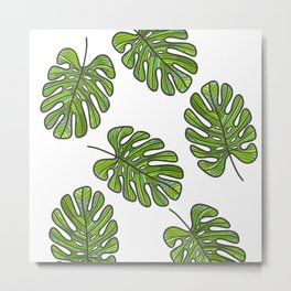 So very frond of you Metal Print
