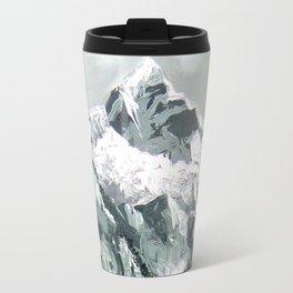 Panoramic View Of Mountain Everest Travel Mug