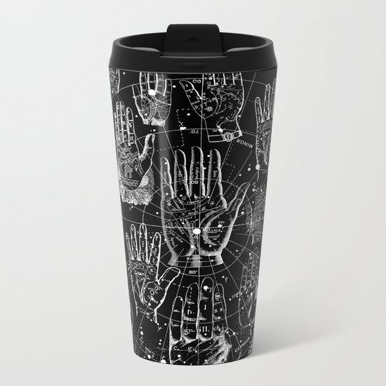 PALMISTRY Metal Travel Mug