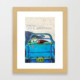 Adventurous Framed Art Print