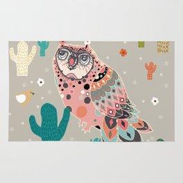 A Dreamy owl Rug
