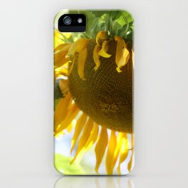 Golden Moment iPhone Case