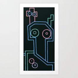 artvark13. Art Print