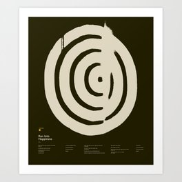 MNEMONIC 3: RUN INTO HAPPINESS — Matthew Korbel-Bowers Art Print
