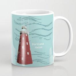 Portland Maine Observatory Coffee Mug