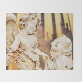 Ecstasy of Saint Teresa Throw Blanket