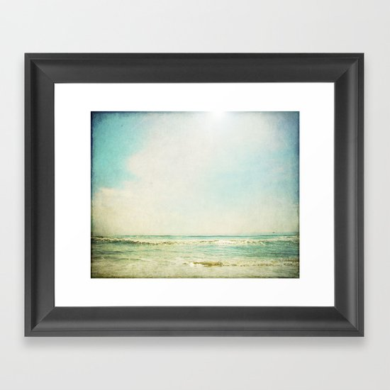 This Time I'll Stay Framed Art Print