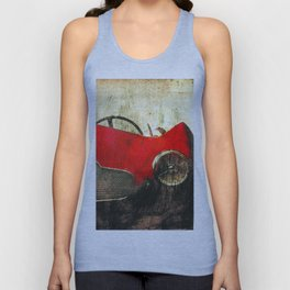 1954 Aston Martin DB2/4 Competition Spider by Bertone Unisex Tank Top