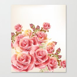 Dreaming of Roses Canvas Print