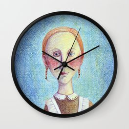 First grade pupil Wall Clock