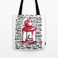 florence Tote Bags featuring florence by desfigure