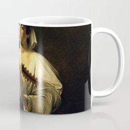 """Michelangelo Merisi da Caravaggio """"The Lute Player"""" Coffee Mug"""