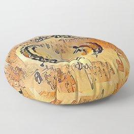 Enso Calligraphy Floor Pillow