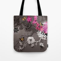 romantic Tote Bags featuring Romantic by Million Dollar Design
