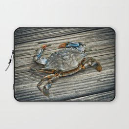 """Busted Peeler"" - Maryland Blue Crab Laptop Sleeve"