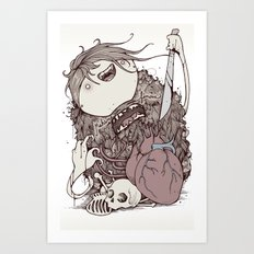 The forest is sick Art Print