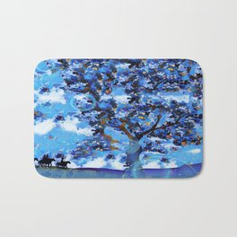 Plum Tree Hills Bath Mat