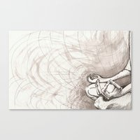 ohm Canvas Prints featuring Ohm... by Sarah Skiöld-Hanlin