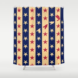 Stripes of Hope Shower Curtain