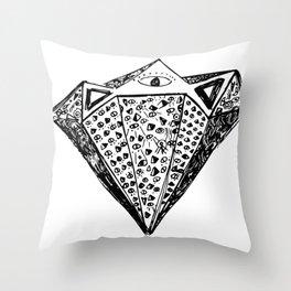 Future Diamond Throw Pillow