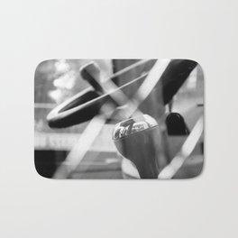 Shatterproof Dreams (JCB Cab Bokeh) Bath Mat