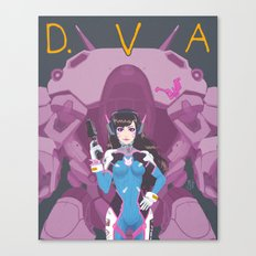 D.VA Over-Watch Canvas Print